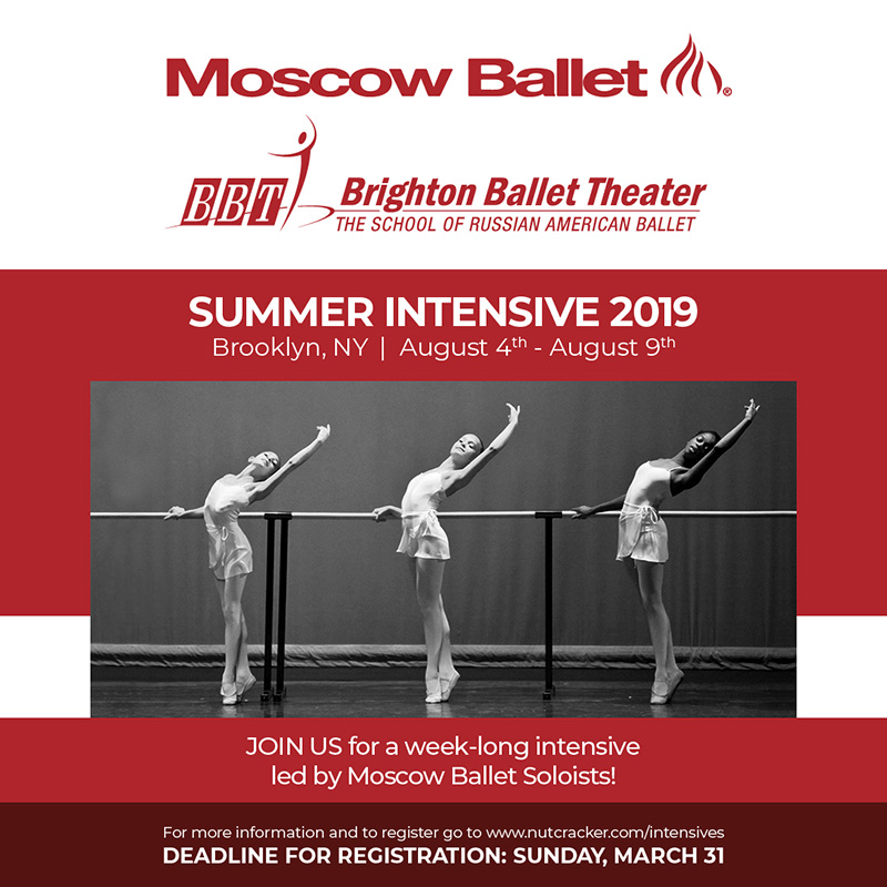 Moscow Ballet Summer Intensive Program Brooklyn New York : Russian